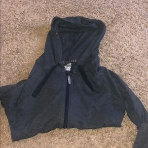 Hooded Under Armour Zip Up Jacket